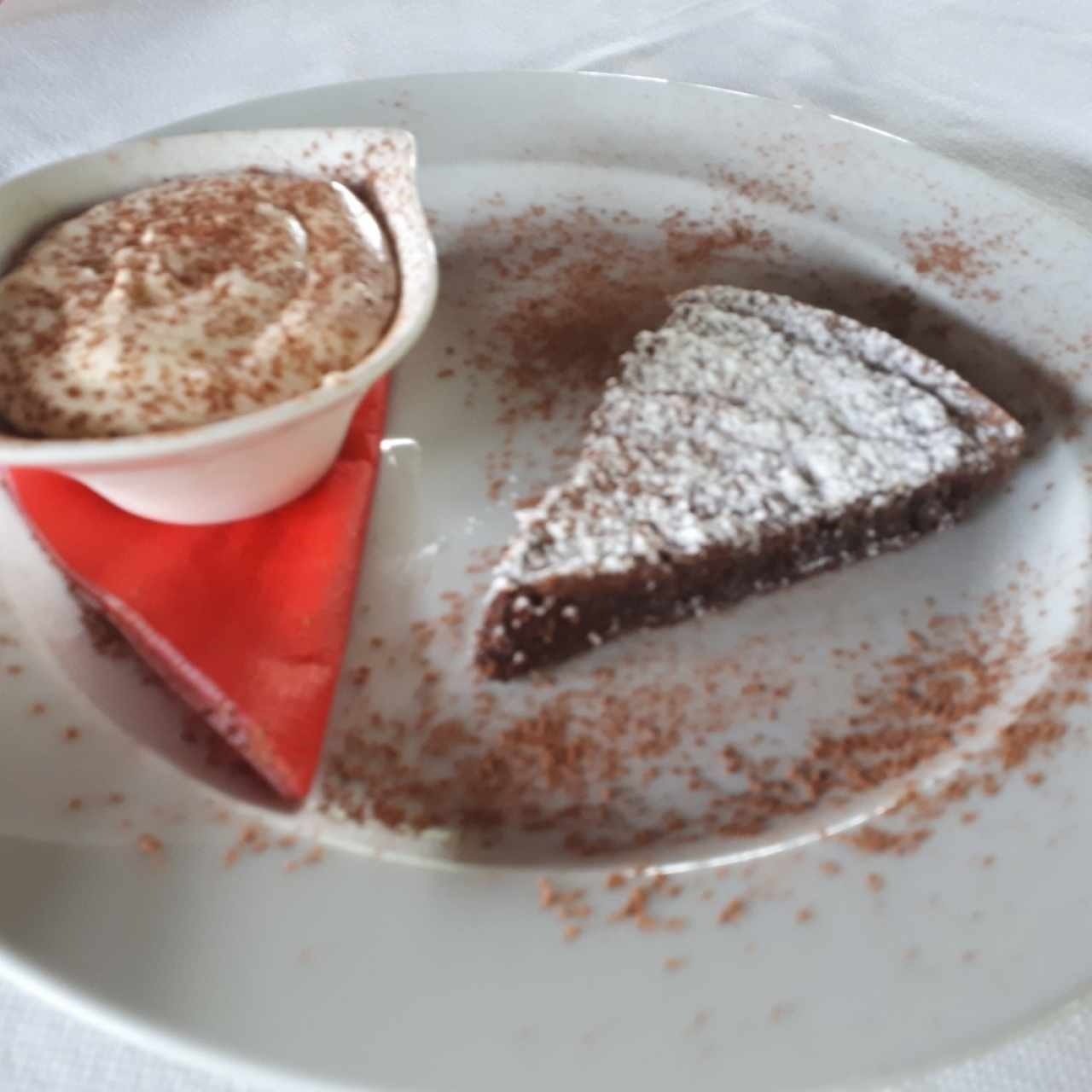 torta de chocolate con mascarpone