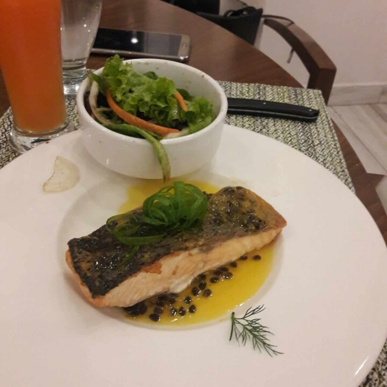 Filete de Salmon