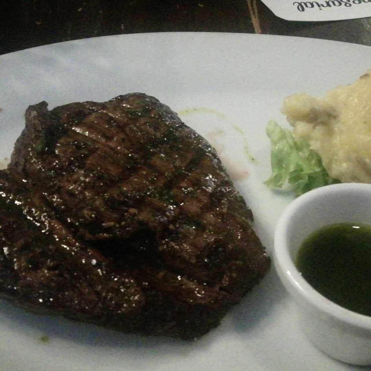 filete 10oz y pure