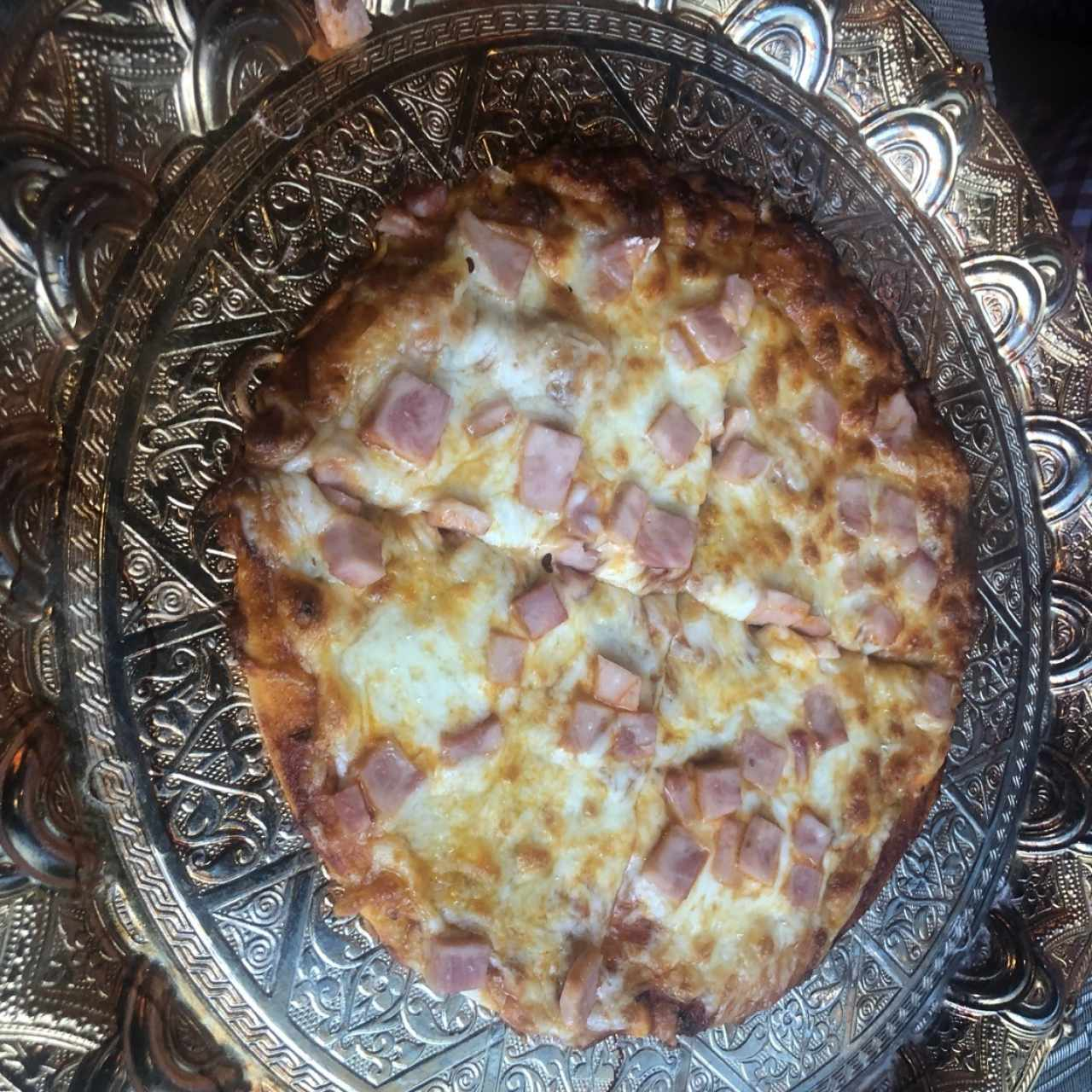 pizza de queso (jamon)