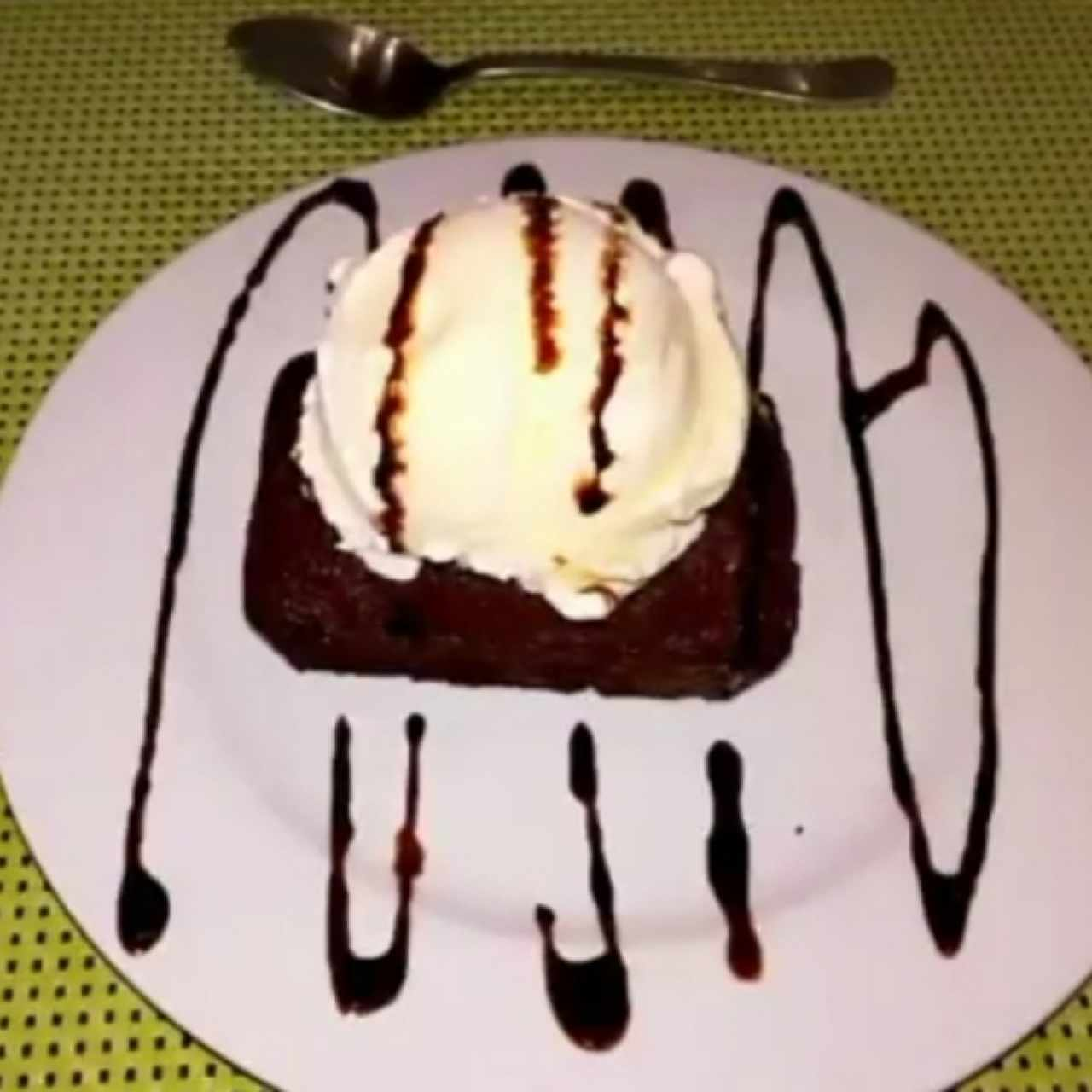 Postre Brownie