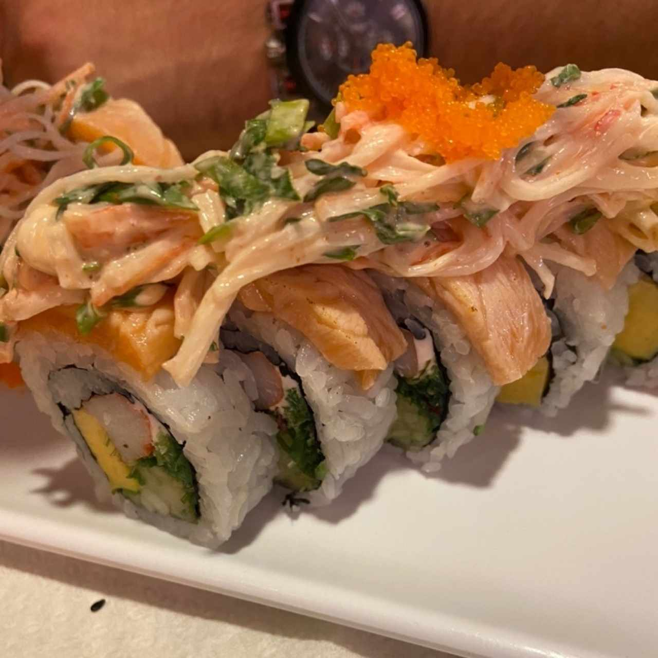 Salmon Lava Roll