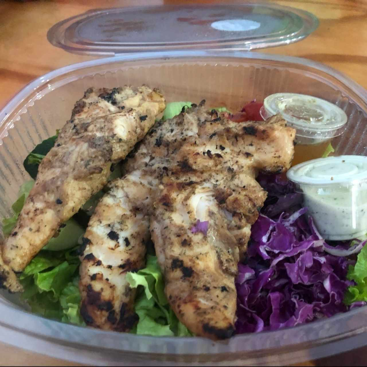 Ensalada- Teriyaki Chicken