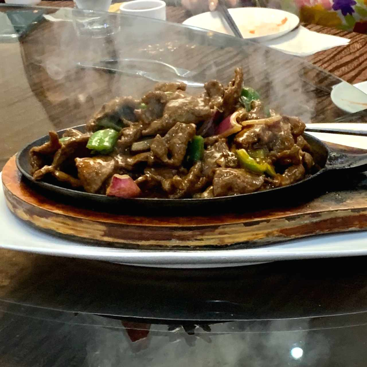 Sizzling Steak