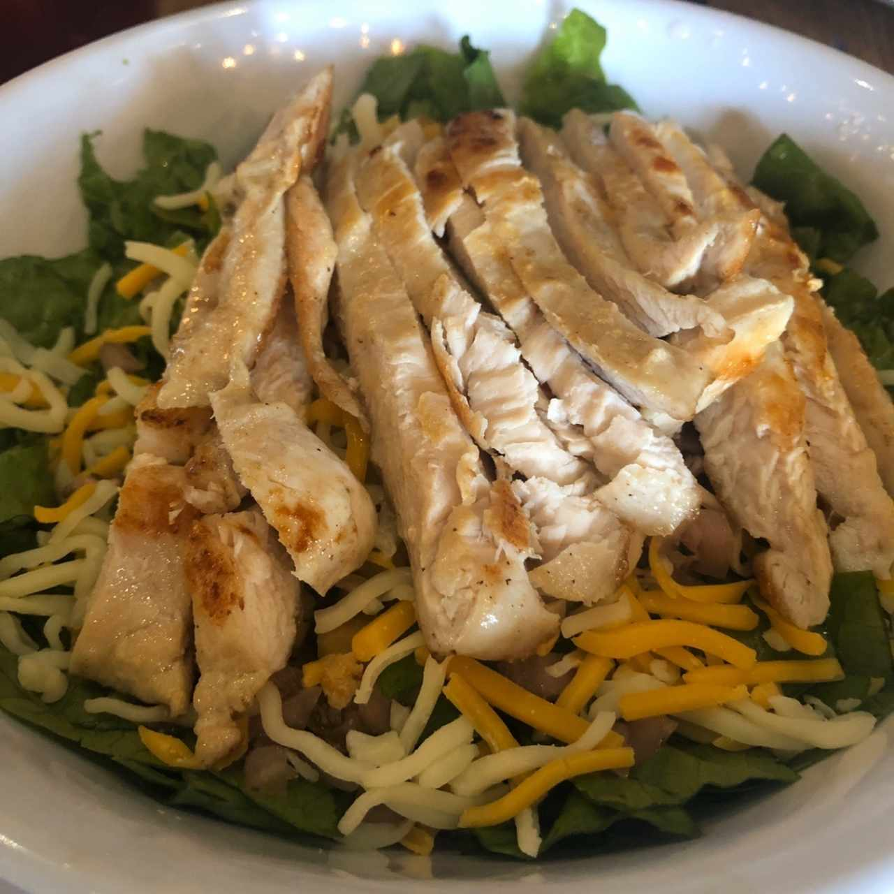 Chicken grilled salad
