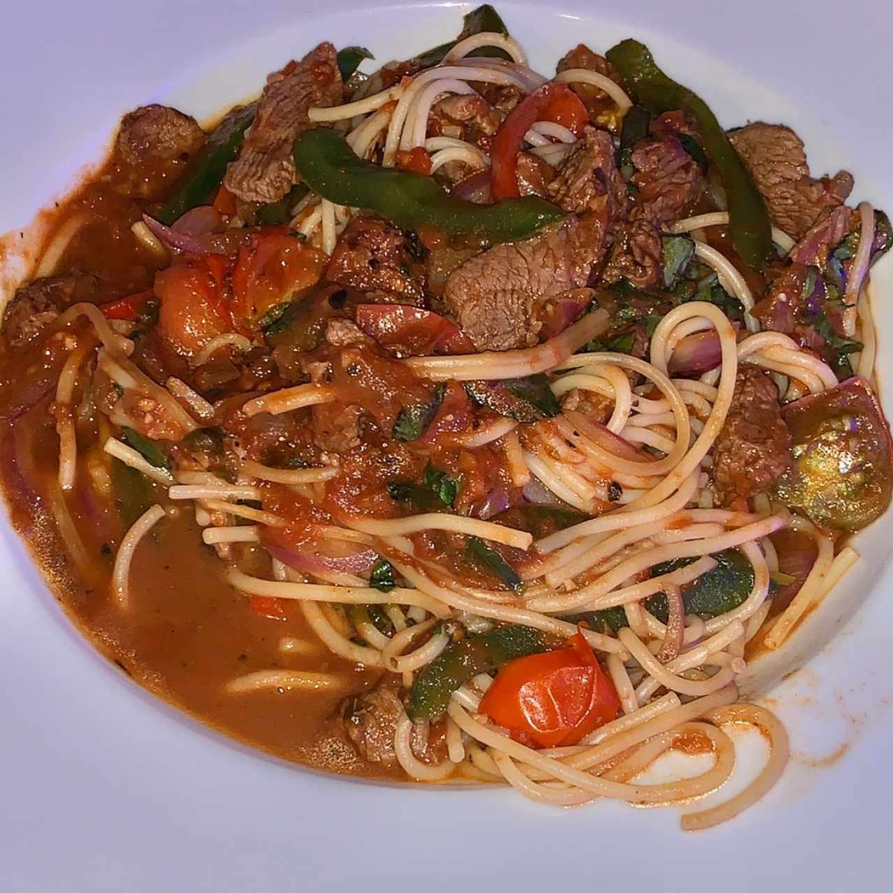 Spaghetti Filetto