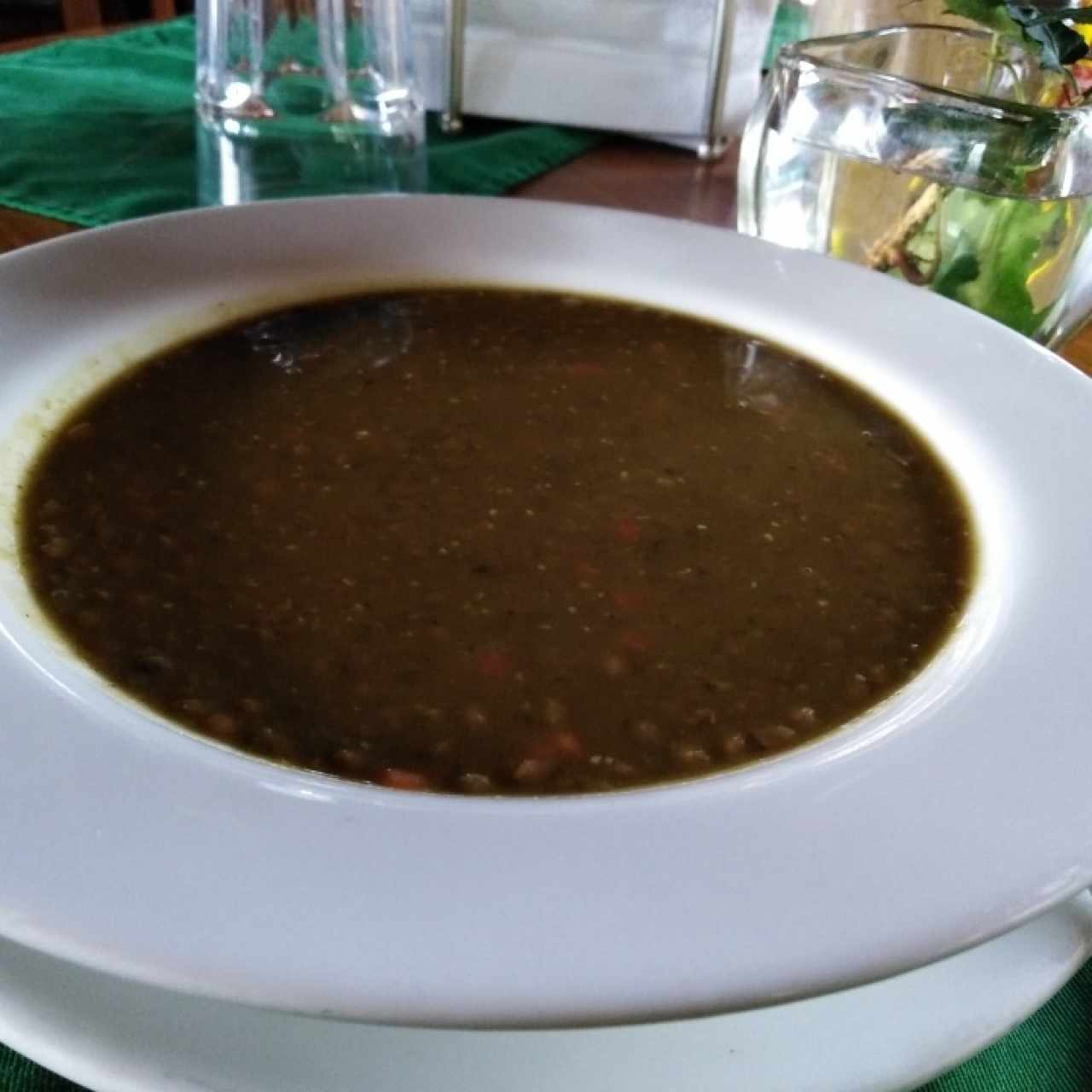 Sopa de Lentejas con Curry