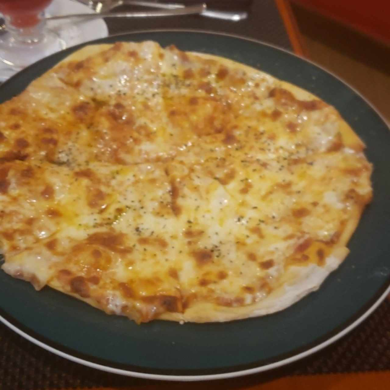 pizza margarita!! Espectacular
