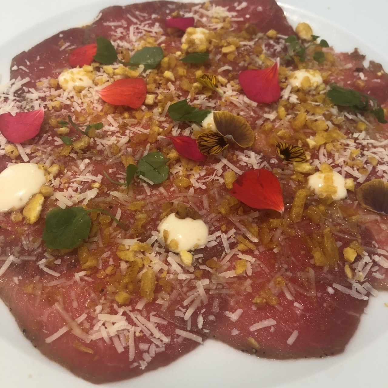 Carpaccio de Filete Angus Ahumado