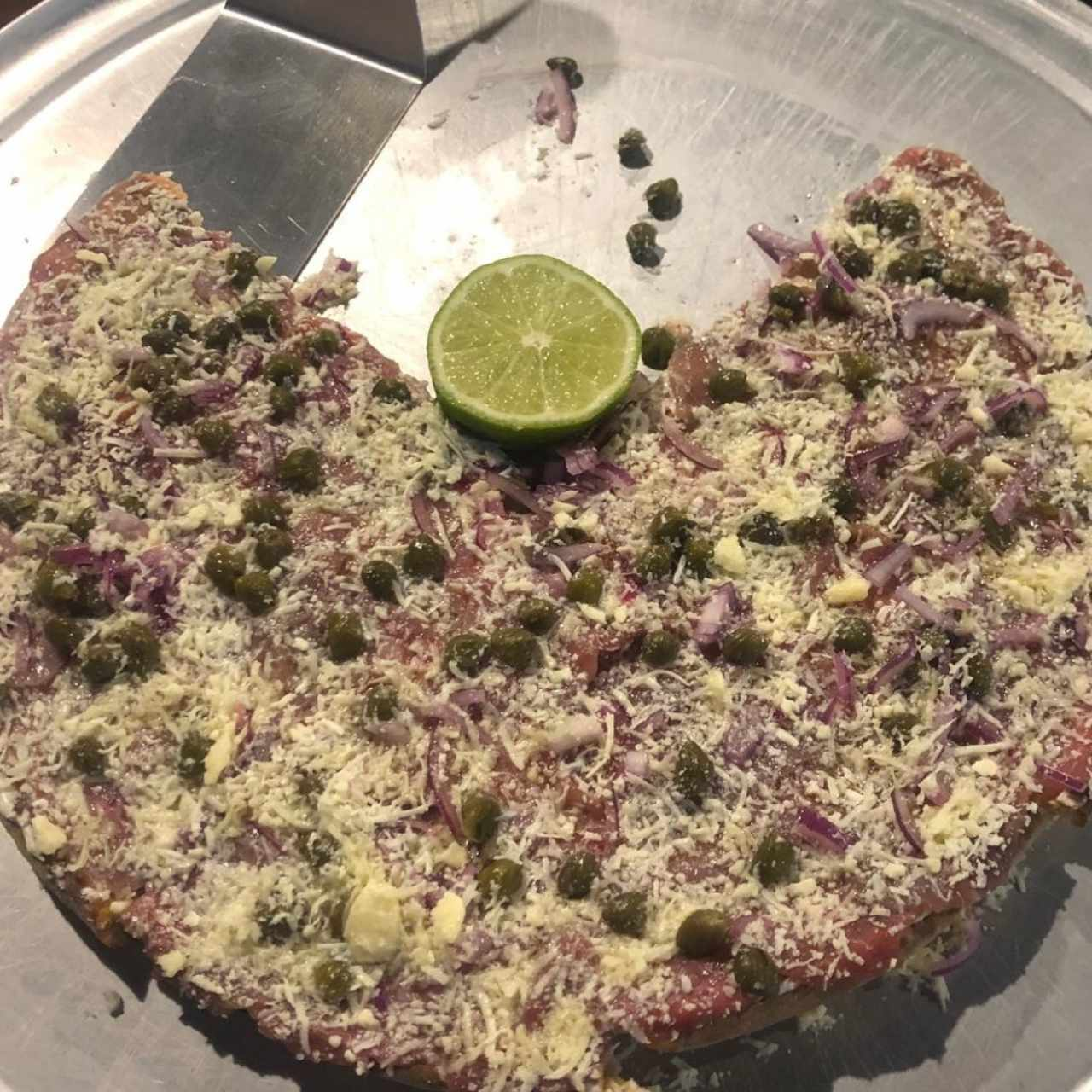 Pizza de Carpaccio