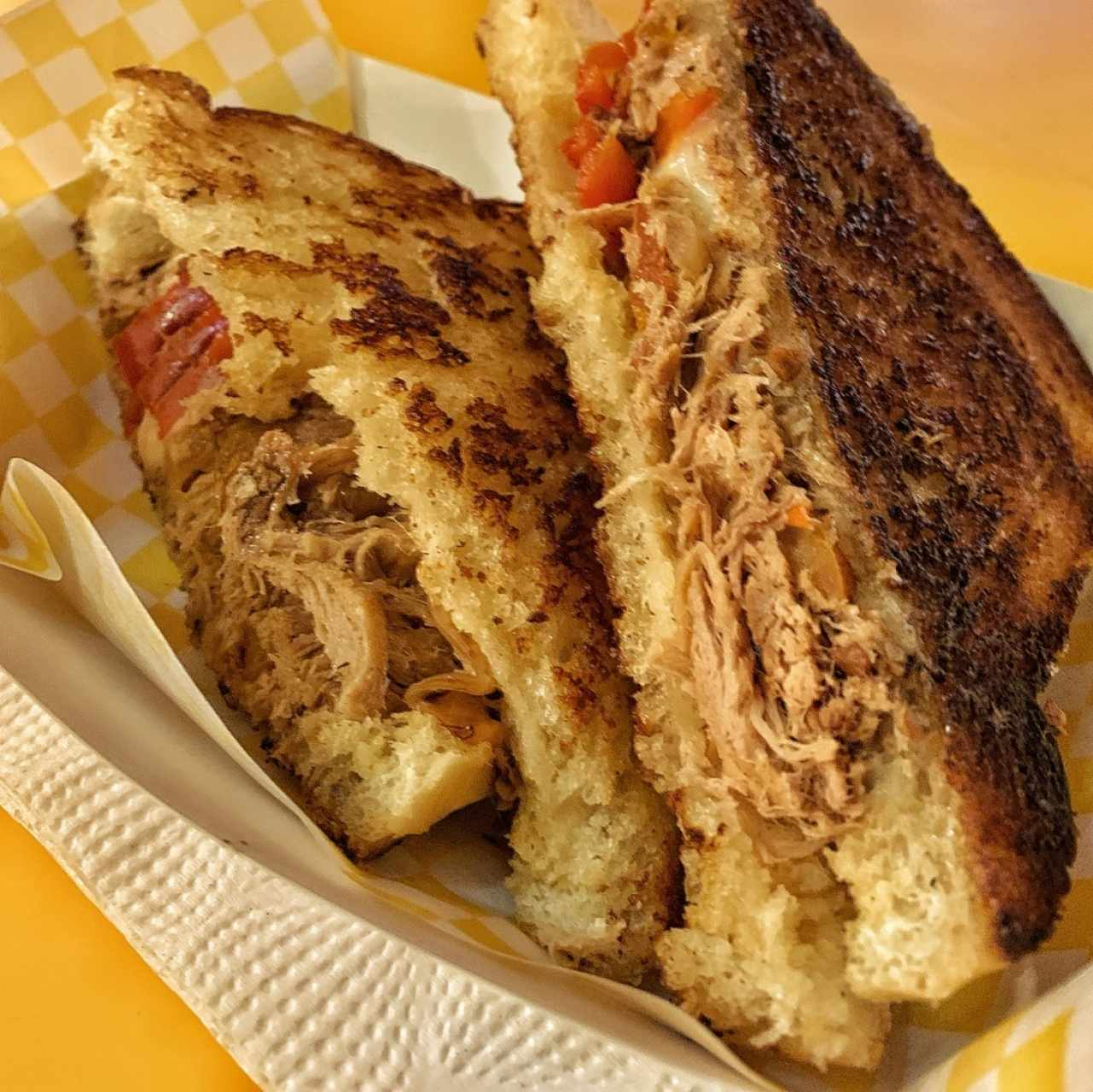 Grilled Cheese - Pulled Pork