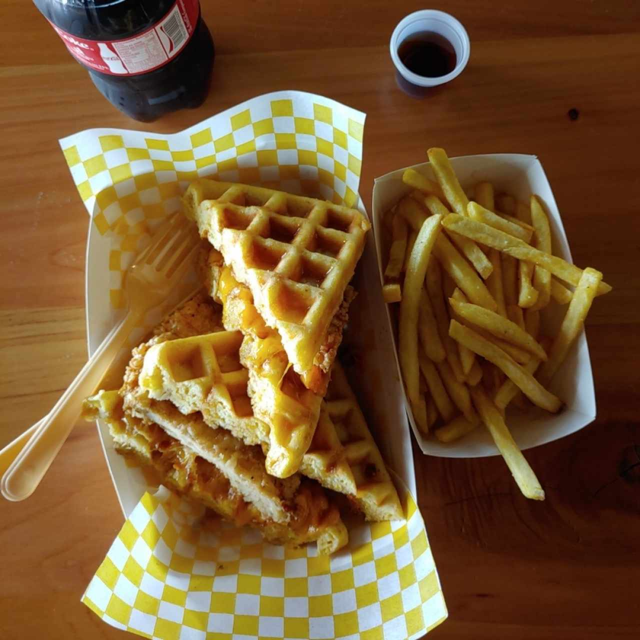 Grilled Cheese - Chicken and Waffle