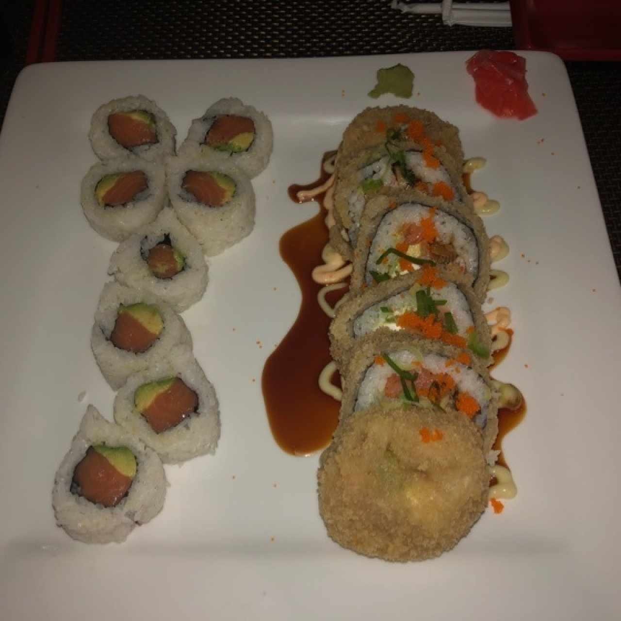 Special Roll - Las Vegas y California Roll