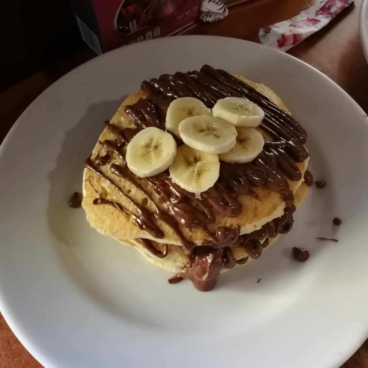 Panqueques con Nutella