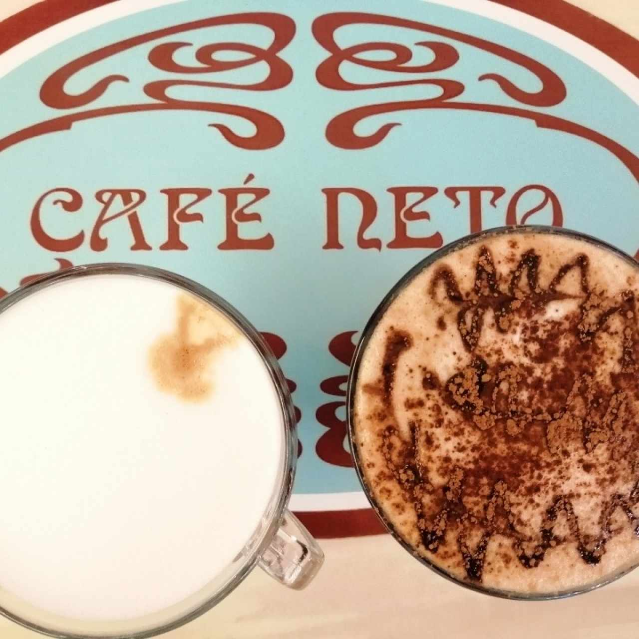 Latte and Mocca