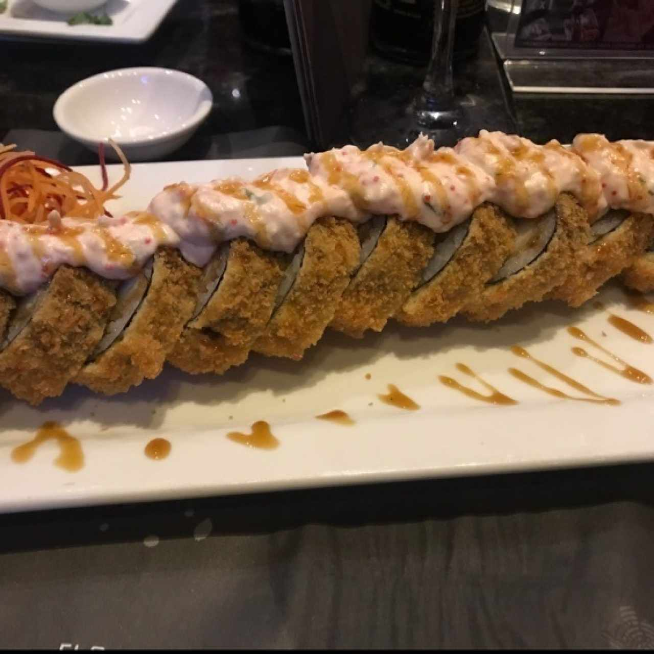 lava roll🤩 super delicioso