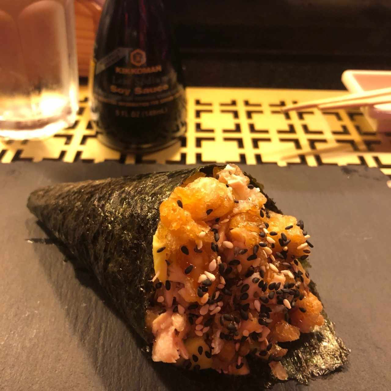 Temaki - Tuna hot
