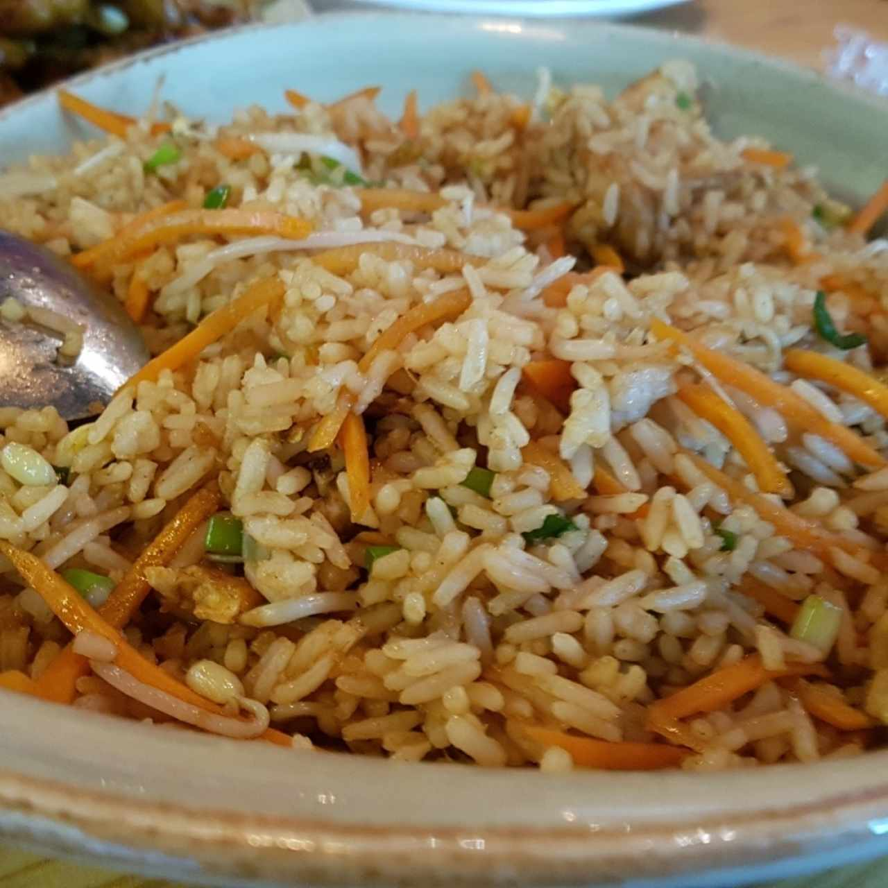 PF Chang's fried rice de pollo