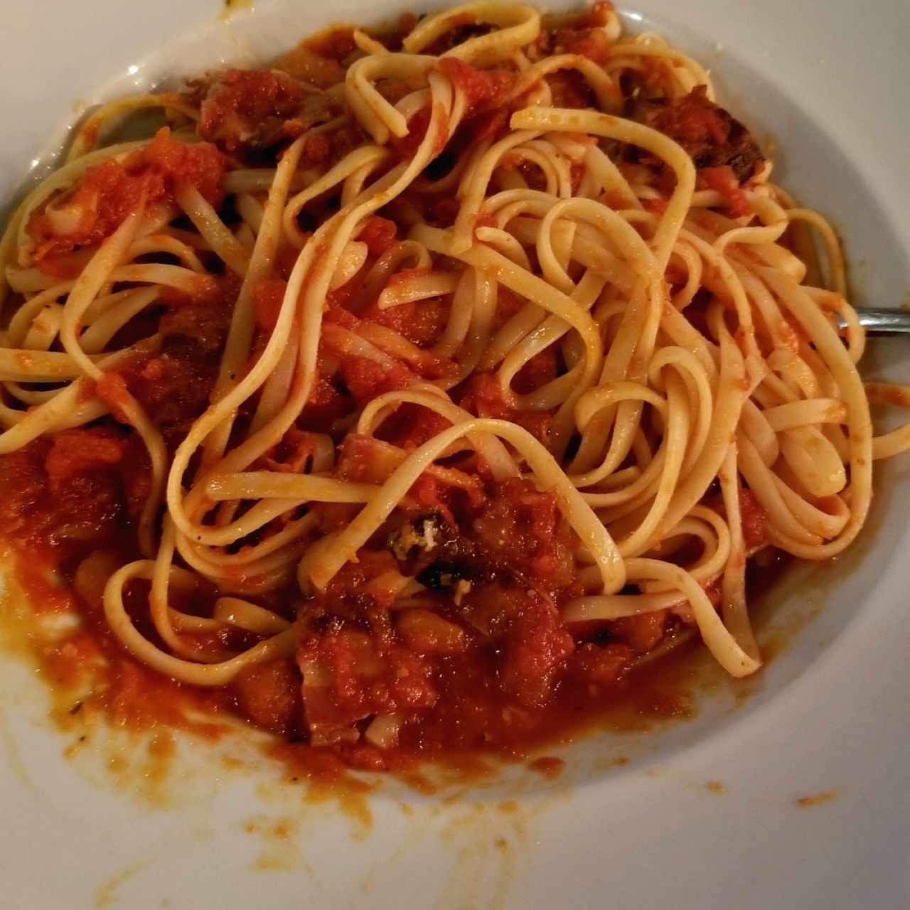 Pastas - Linguini all'amatriciana