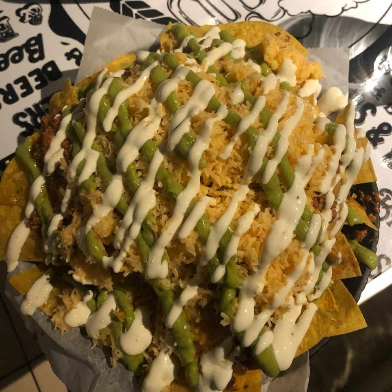 Finger Food - Touch down nachos