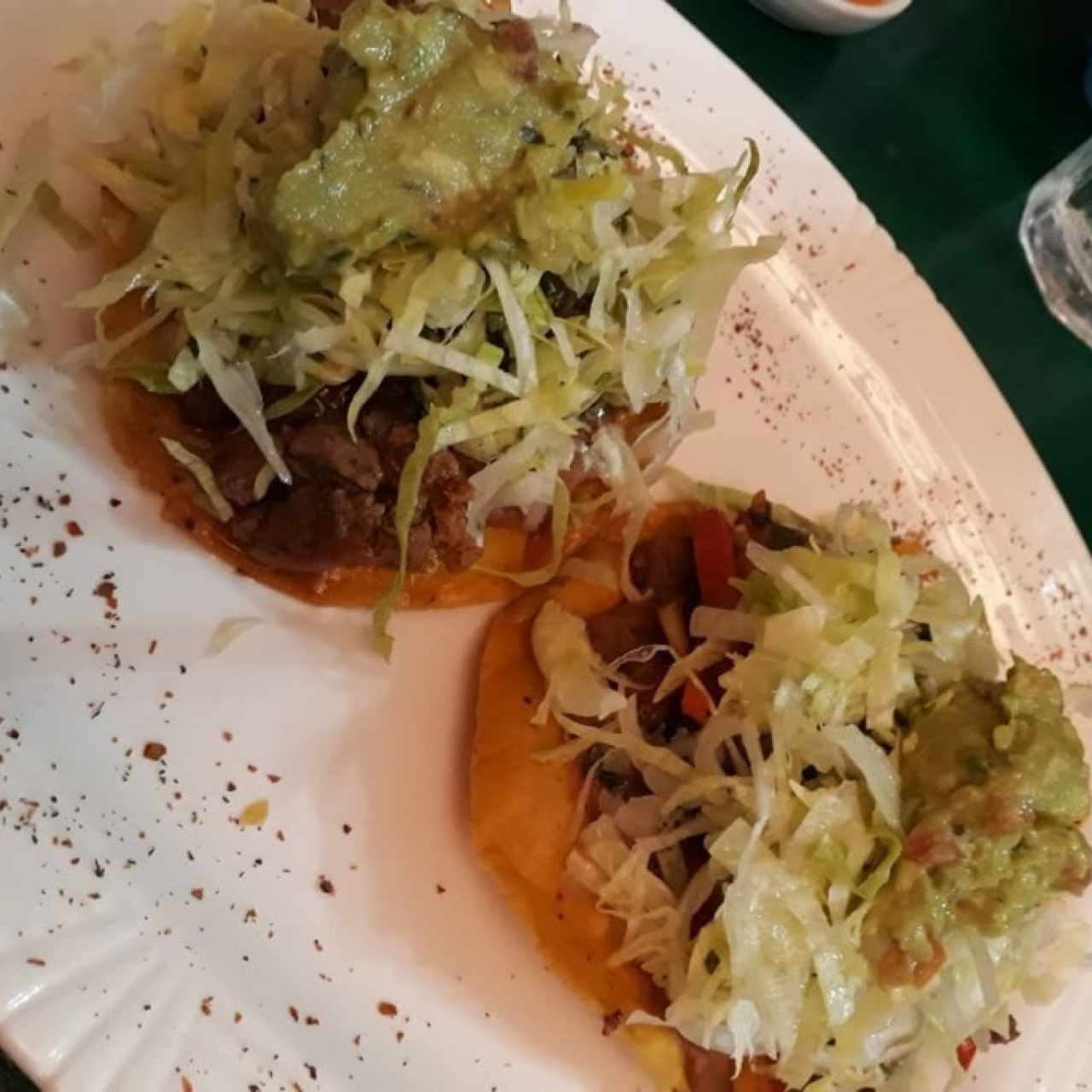 tostadas de filete