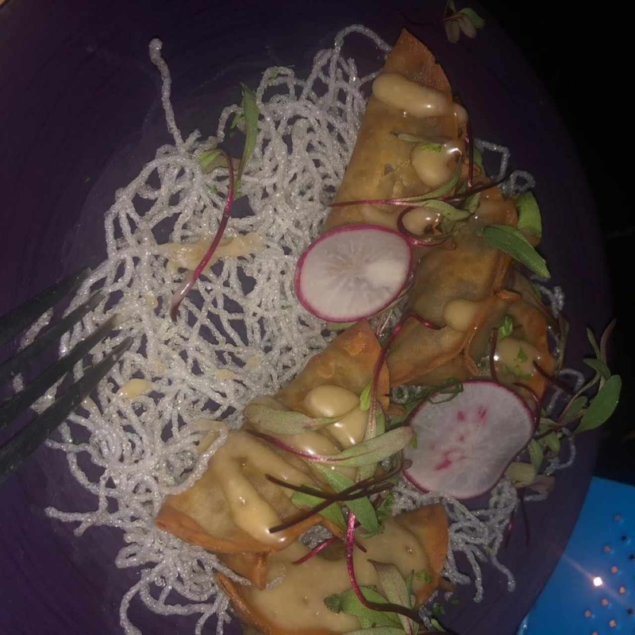 CHEF'S SPECIALS - DUMPLINGS DE COCHINILLO