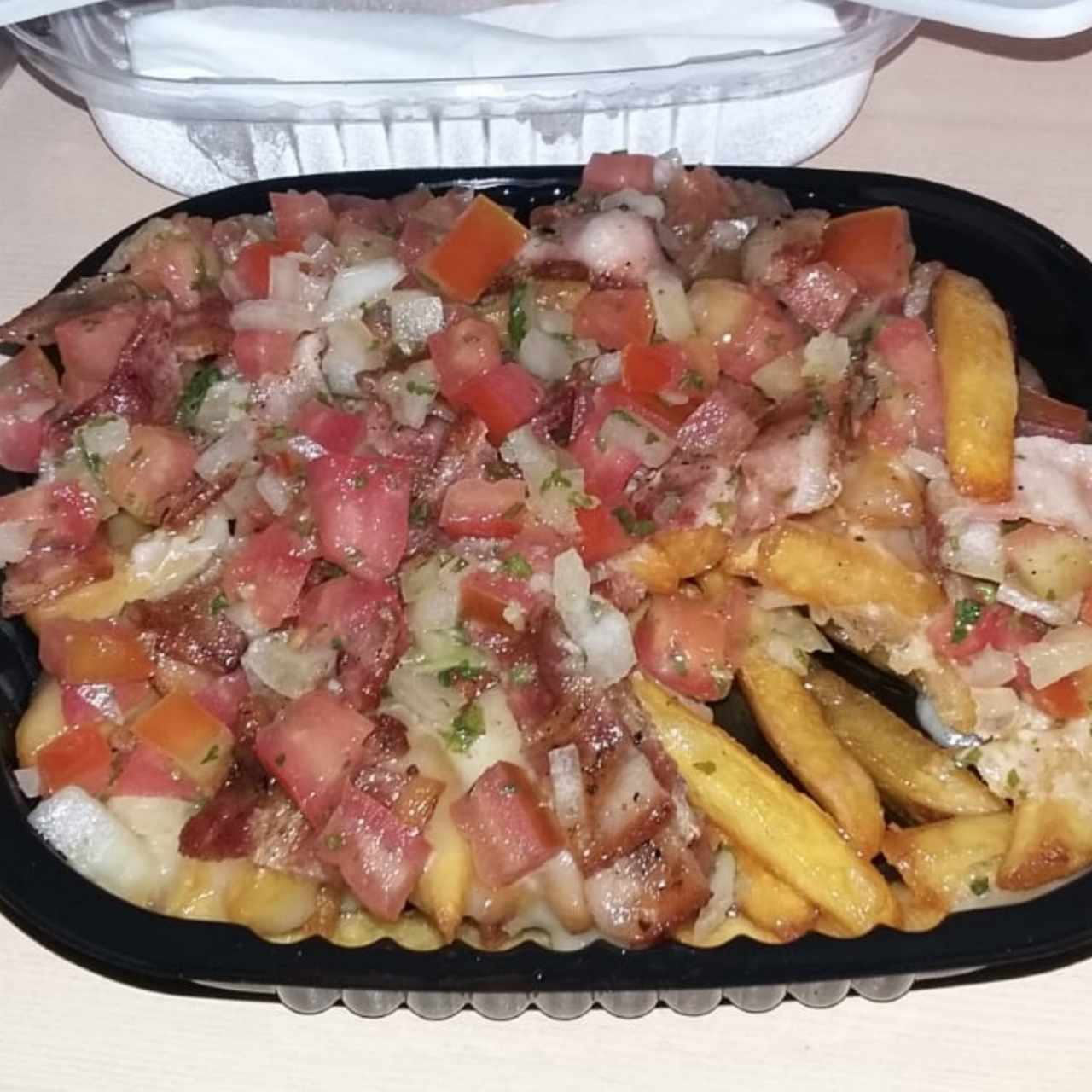 Farmers Fries con bacon