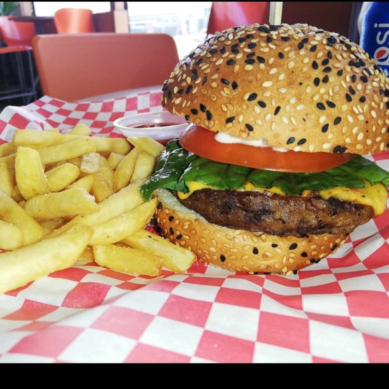 farmer burger sencilla