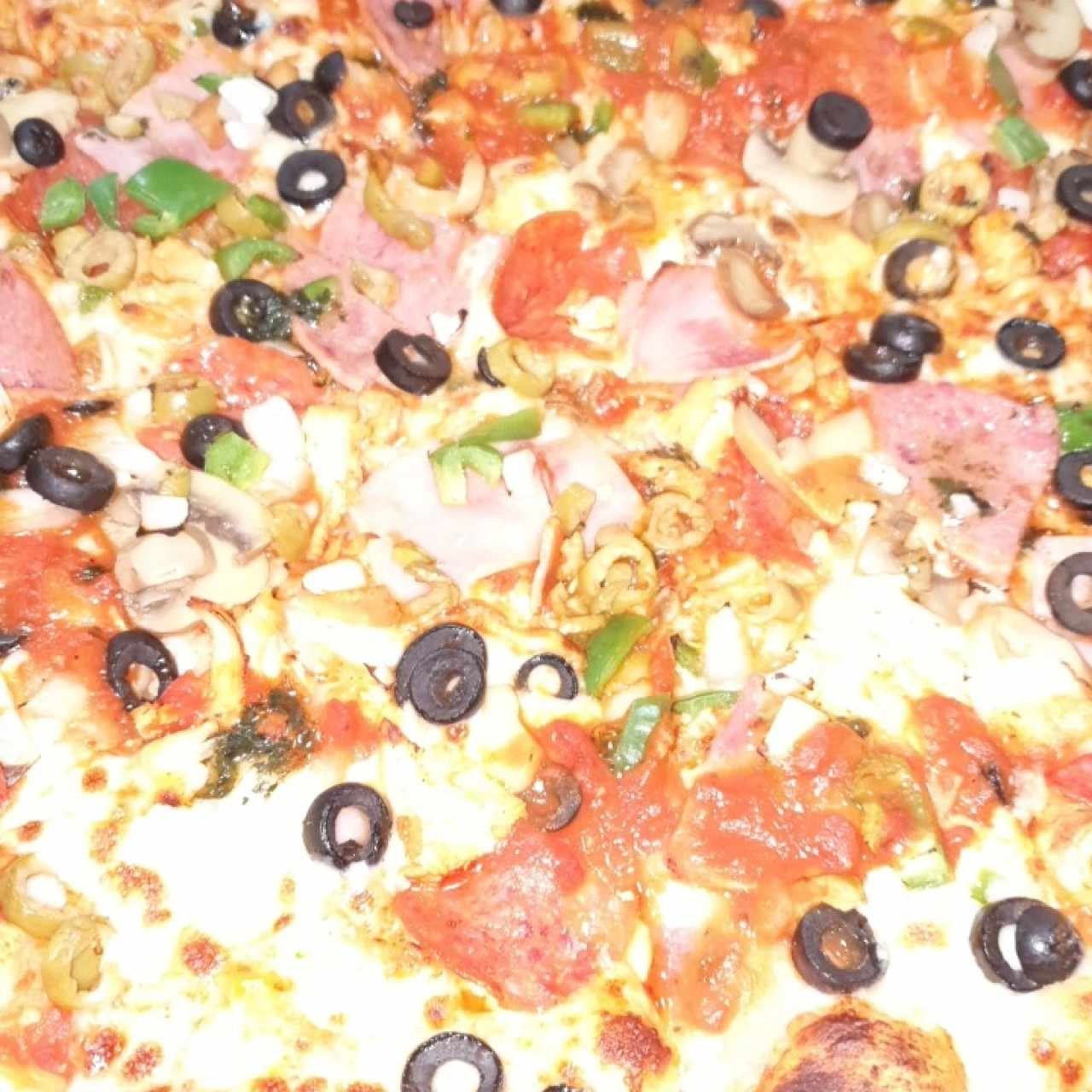 pizza timbal familiar