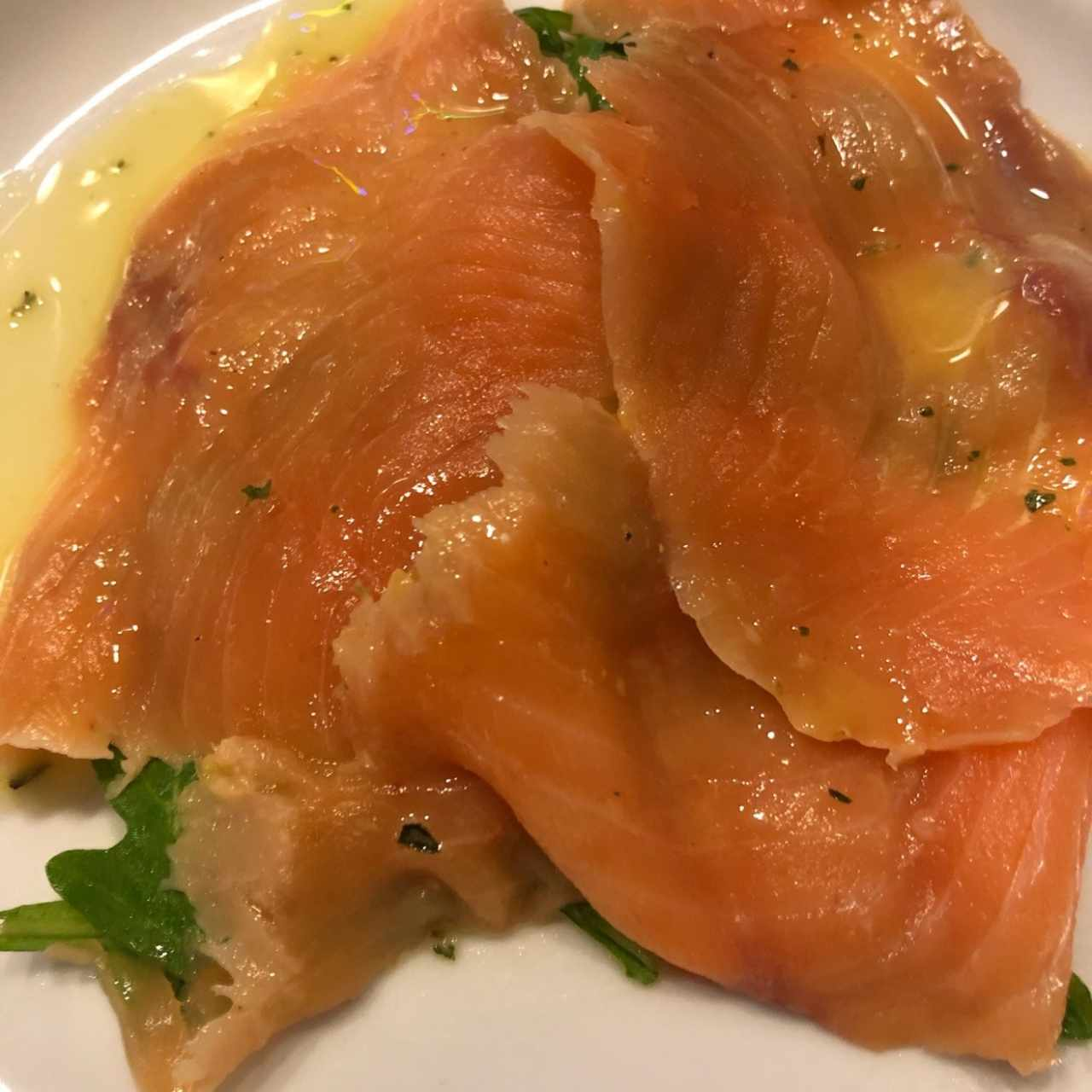 carpaccio di salmon