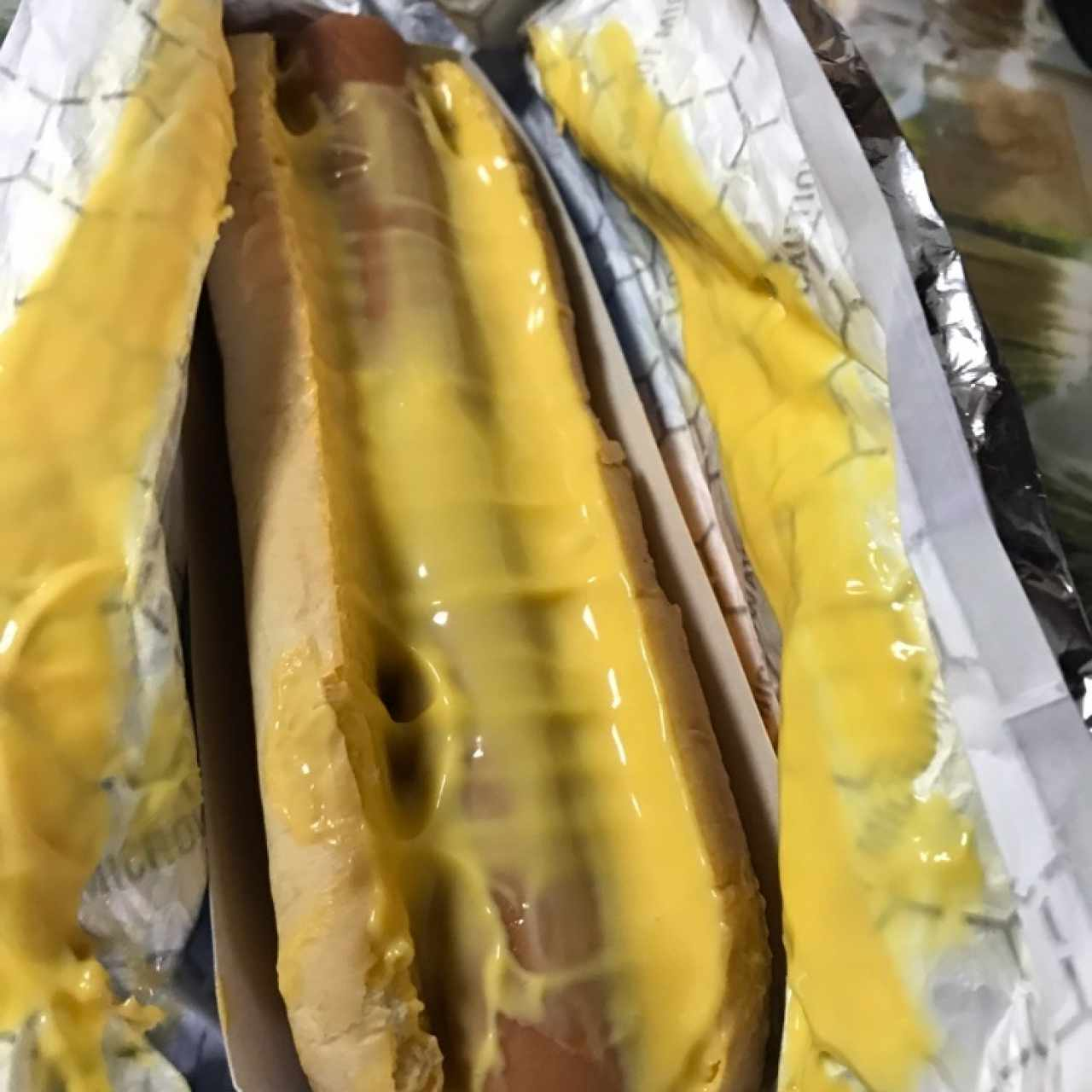 Hot Dog con Queso