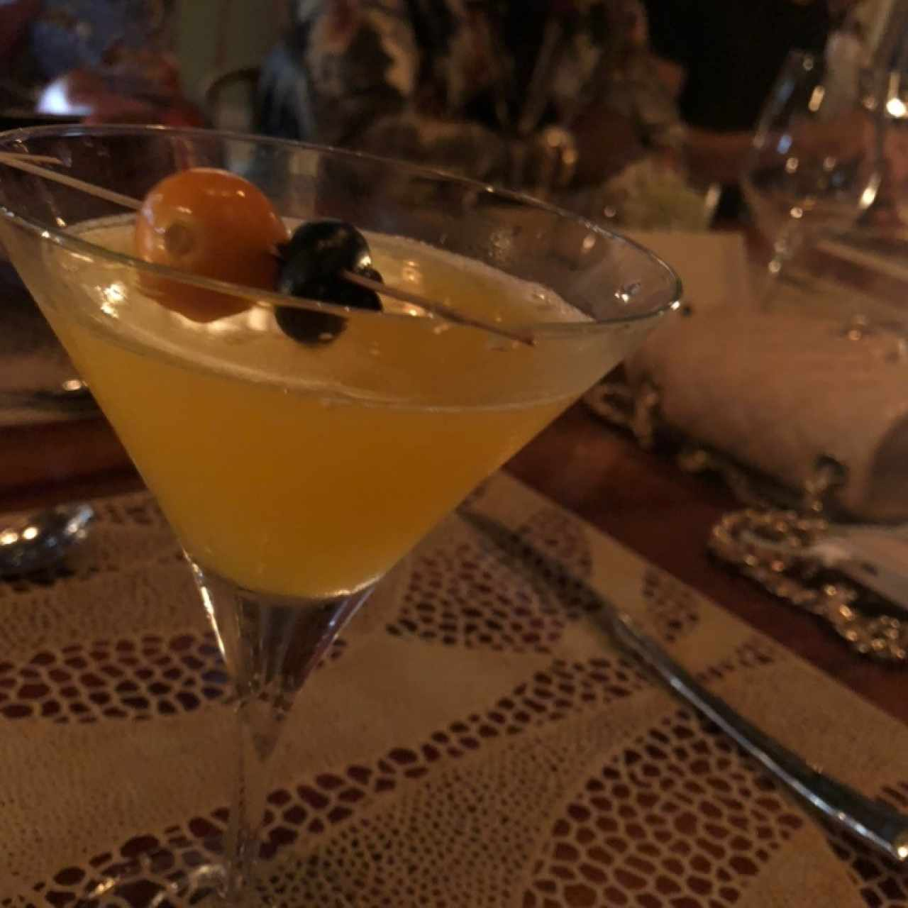 passion fruit martini $10