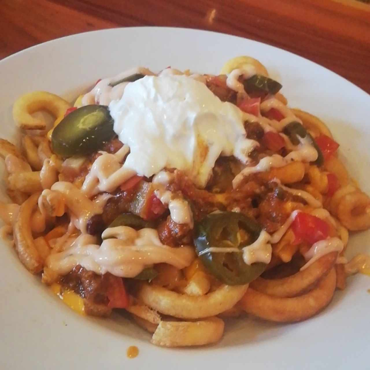 Big dipper chili cheese fries