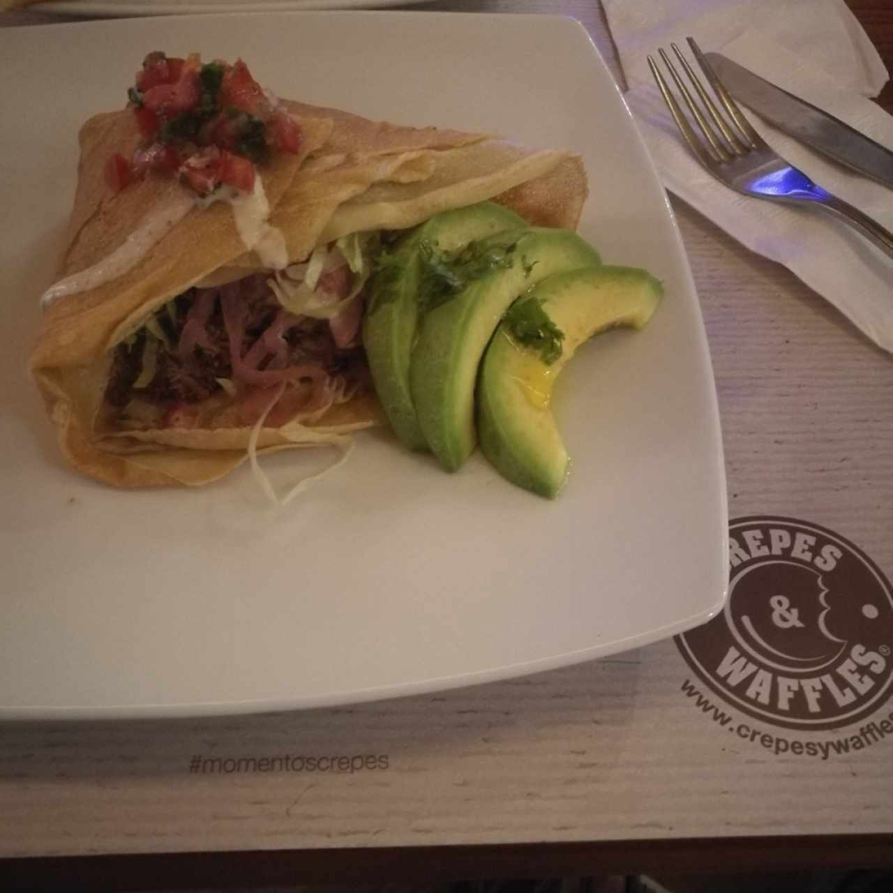 crepes de carne (cochinilla)