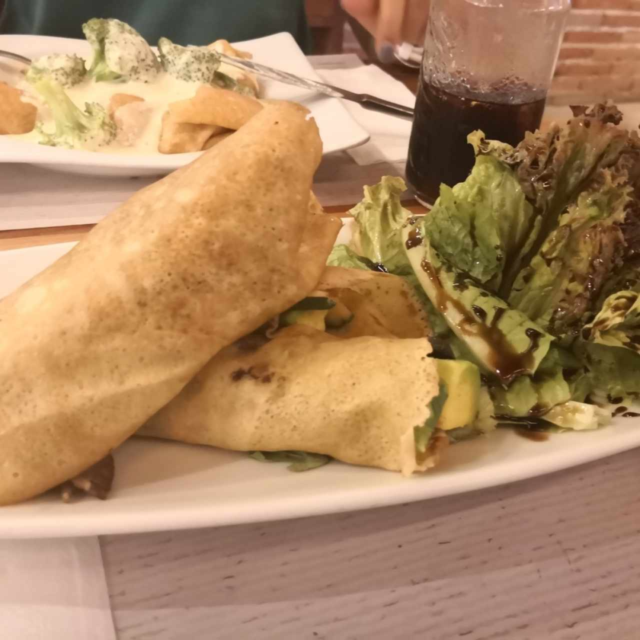 Crepes Vegetariano