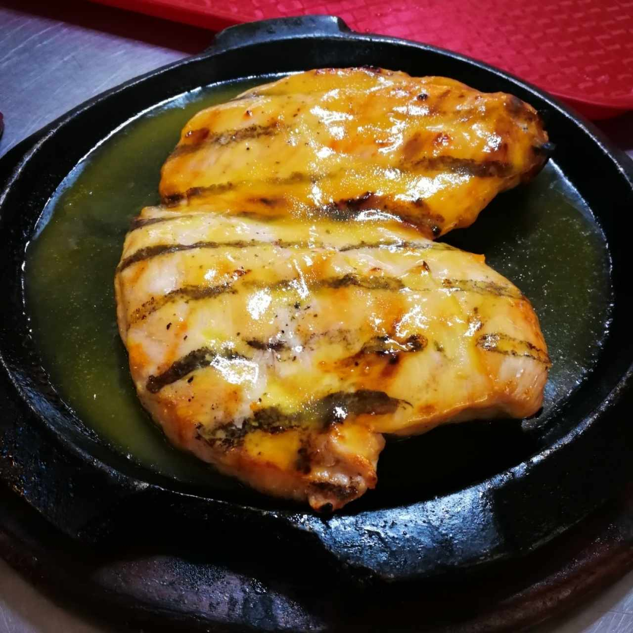 Filete de Pollo a la Naranja