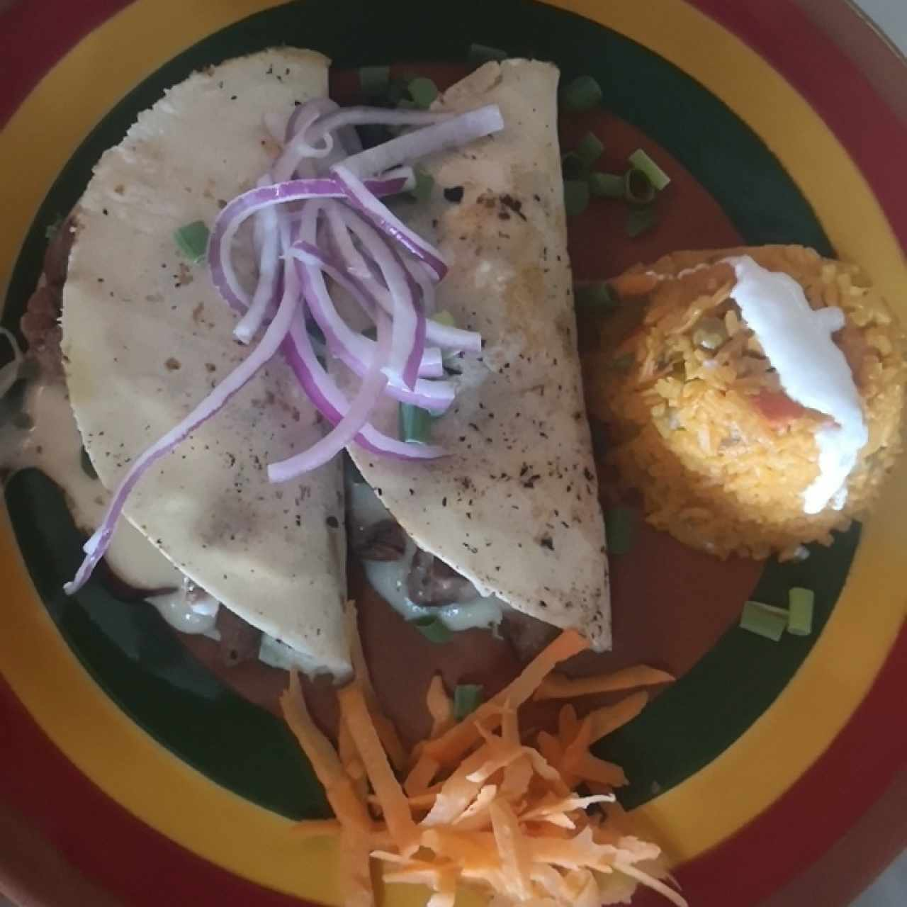 quesadilla de filete