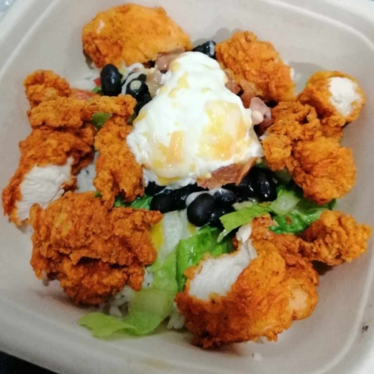 bowl de chicken tender