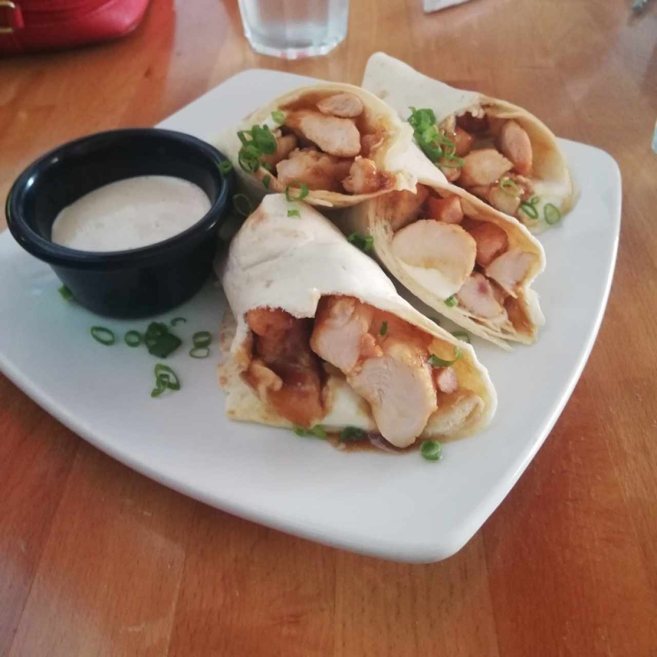 Chicken Asian Tacos