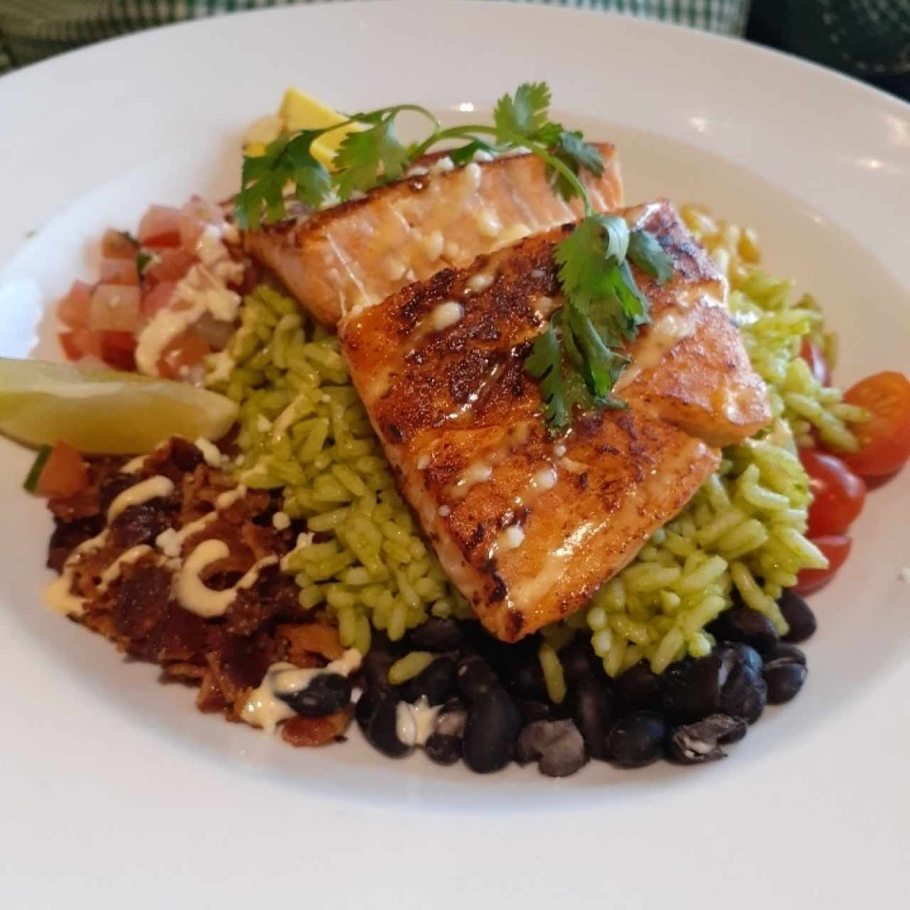 Salmon Mexi Bowl