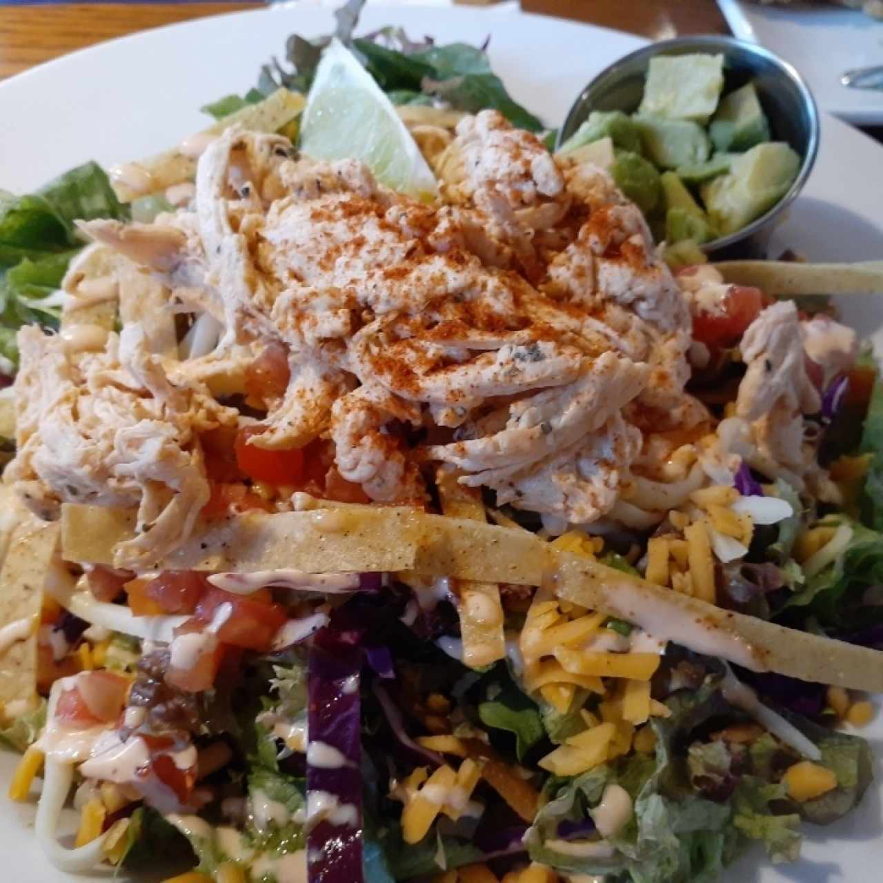 Yucatan Chipotle Chicken Salad