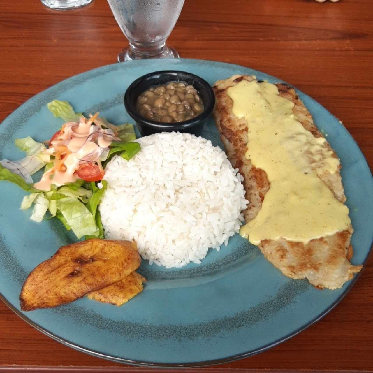 pescado con salsa de curry