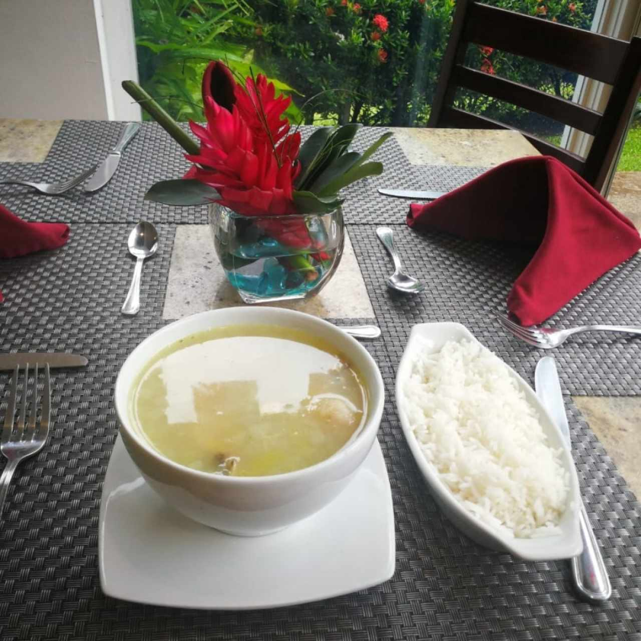 Sancocho con arroz