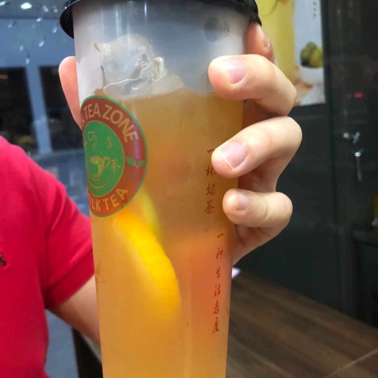 Super fruit jasmine tea