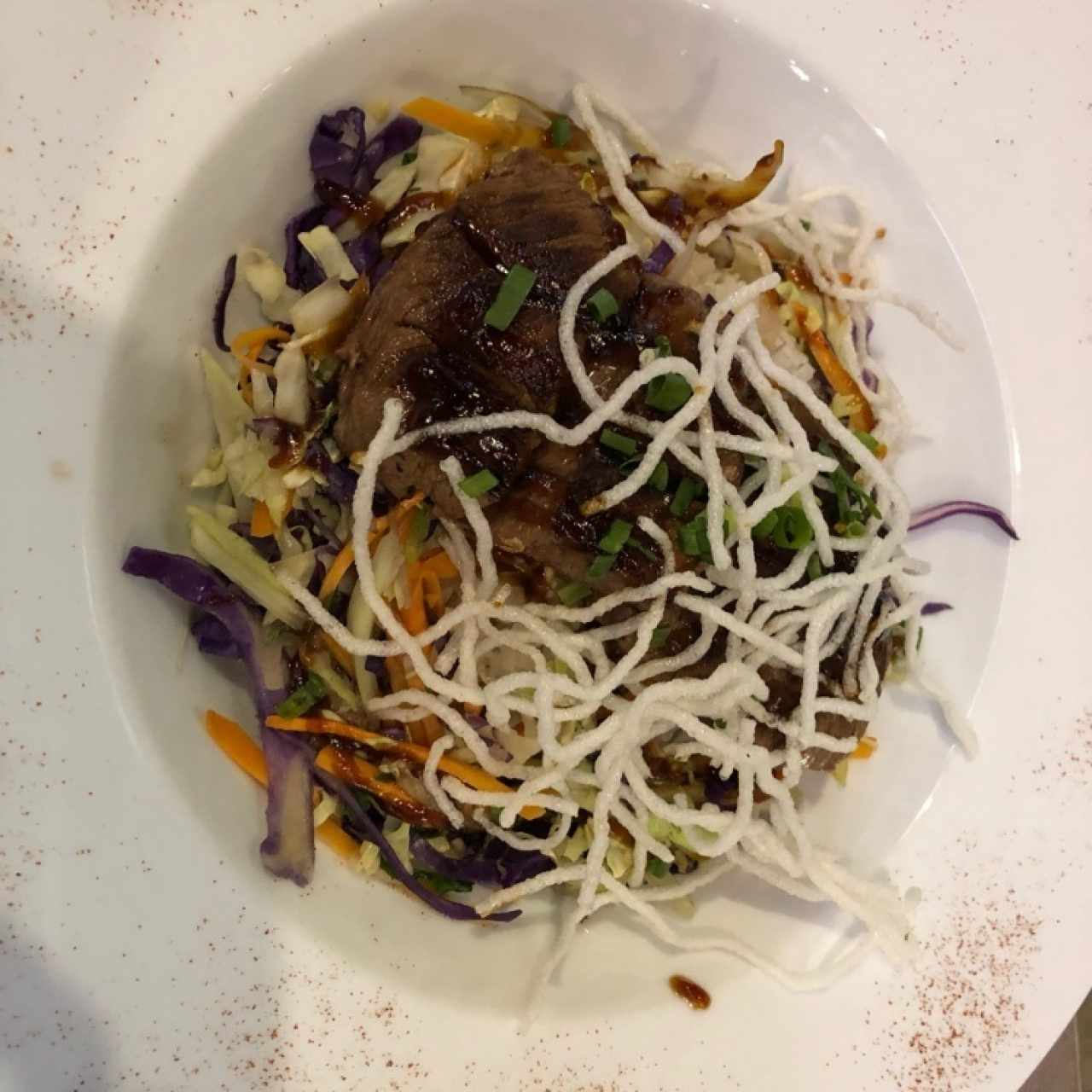 teriyaki de filete de res