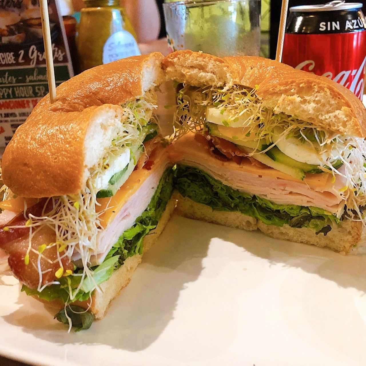 Sara's Turkey Club (Amazing)