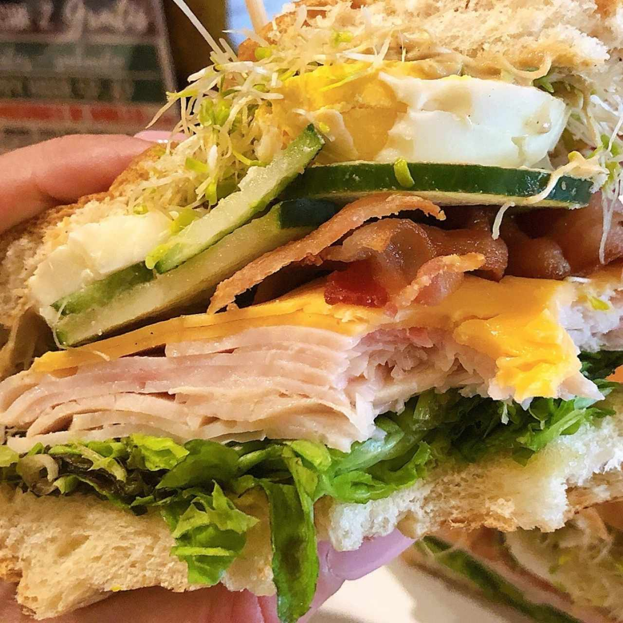 Sara's Turkey Club (Layers)