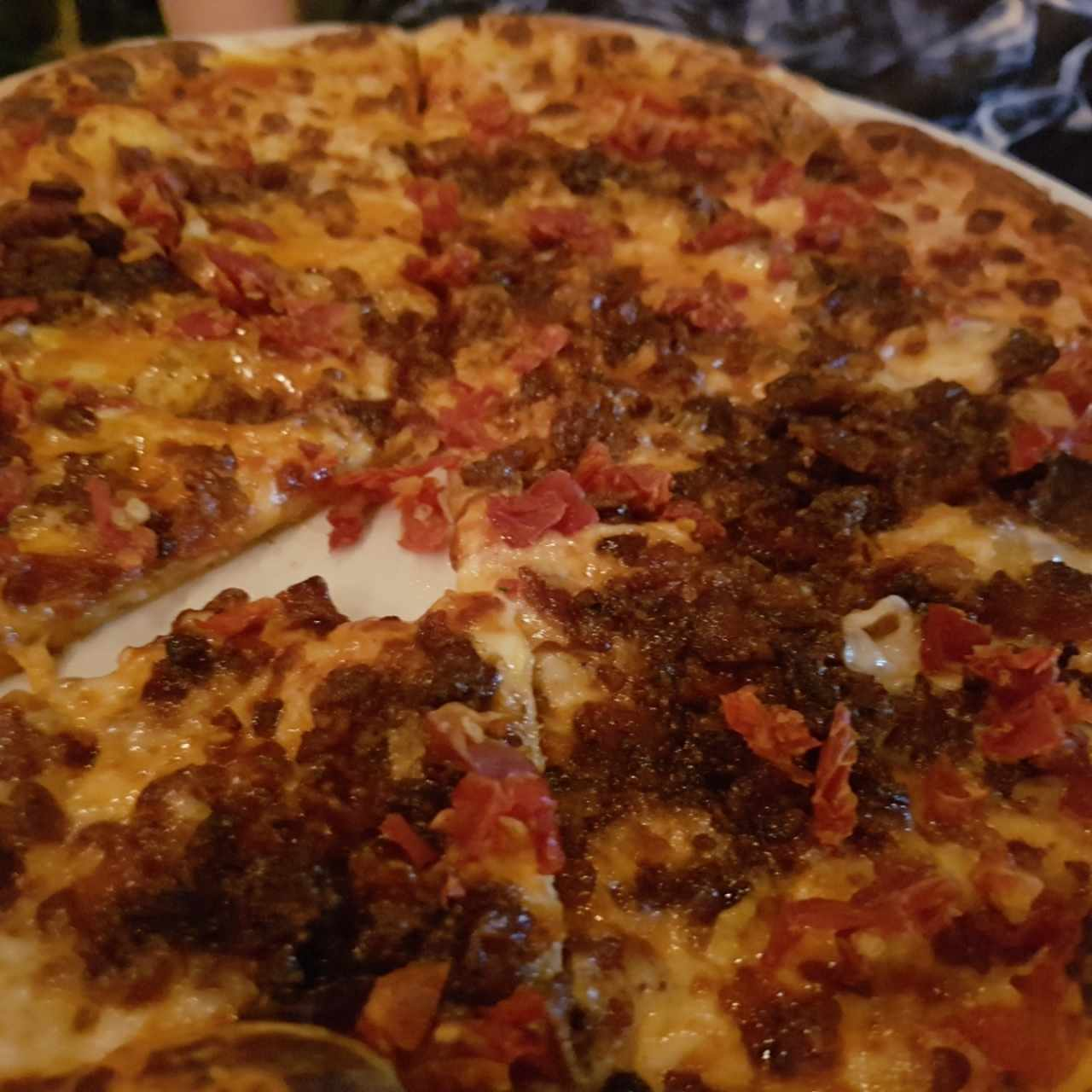 Pizzas - Crispy bacon
