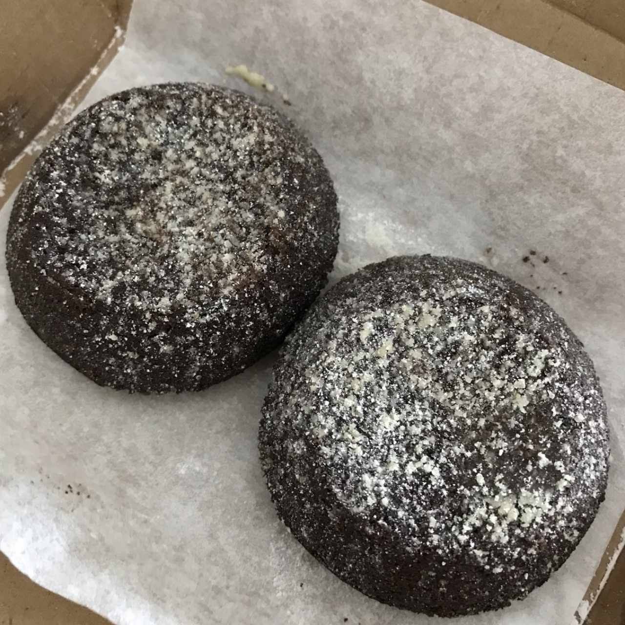 Lava cake de chocolate
