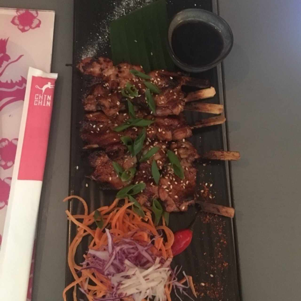 yakitori de filete